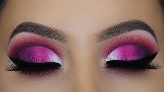 JEFFREE STAR BLOOD SUGAR PALETTE SMOKEY MAKEUP TUTORIAL