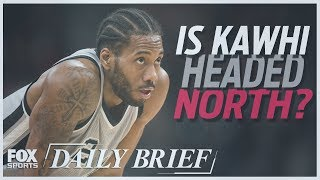 Kawhi Leonard, LeBron James, Terrell Owens (7.13.18) | FOX SPORTS DAILY BRIEF