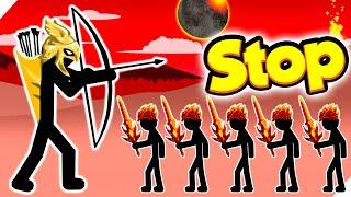 СТОП - ВРАГ НАПАДАЕТ КАЖДУЮ СЕКУНДУ! Stick war legacy update