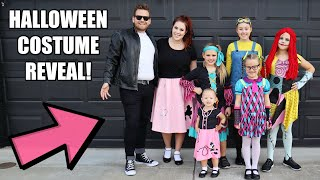 Our Halloween Costume REVEAL + Trick Or Treating!