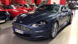 Essai Aston Martin DBS boîte manuelle ex-Akram !