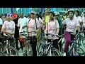 Huge response to bicycle rally by Hyderabad SHE team