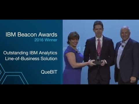 QueBIT is the Beacon Award Winner at PWLC 2016
