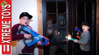 Night Of The Werewolf! Sneak Attack Squad Halloween Beast Nerf Battle! Part 3