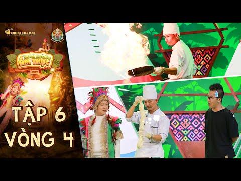 Thiên đường ẩm thực 6|Tập 6 Vòng 4: Ngỡ ngàng trước món mì lừa & tài nghệ điêu luyện của anh đầu bếp