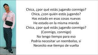 KYLE, Kehlani - Playinwitme (Letra en español)