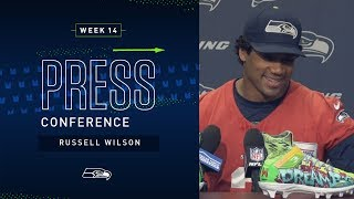 Quarterback Russell Wilson Week 14 Press Conference | Seahawks 2019