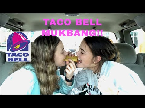 dragging taco bell for 7 mins/ mukbang!!
