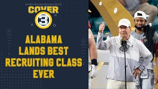 2021 National Signing Day: Alabama signs best recruiting class ever!   Cover 3 College Football