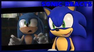 Sonic Reacts to CARTOON SONIC in Sonic 2019 Trailer