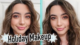 Holiday Makeup Look - Veronica Merrell - Merrell Twins