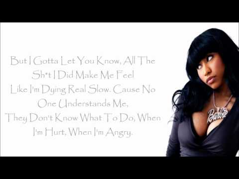 Nicki Minaj - Autobiography Lyrics Video
