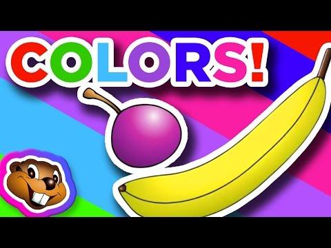 Cantecele - Jocul culorilor - Engleza