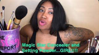 Magic Star Concealer and Magic Star Setting Powder Review and Demo