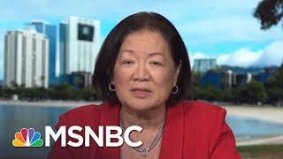 Mazie Hirono: Calls For Sen. Al Franken's Resignation A 'Distraction' | MTP Daily | MSNBC