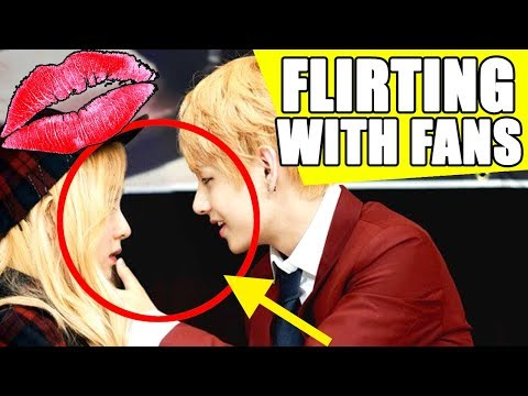 👄 BTS FLIRTING WITH FANS | BANGTAN BOYS FANSIGN ❤