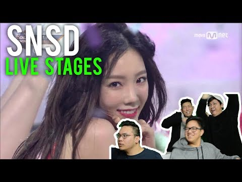 Girls' Generation LIVE! (HOLIDAY AND ALL NIGHT Reactions)