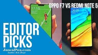 Oppo F7 atau Xiaomi Redmi Note 5?