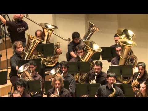 """Jove Banda Simfonica de la FSMCV  """"Tirannosaurus Rex"""" de Ferrer Ferran"""