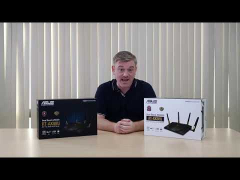 video ASUS RT-AX88U AX6000 Dual-Band Wifi Router