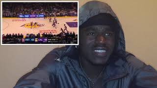 Kyle Kuzma Goes Off for 41 Points in 3 Quarters!! Reaction 2019.01.09, NBA