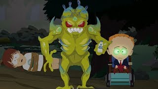 South Park: The Fractured But Whole DLC - Alien and Timmy Final Boss Fight