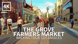 LOS ANGELES TRAVEL - Walking The Grove at Farmers Market, Los Angeles, California, USA, 4K UHD