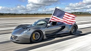 Worlds Fastest - Hennessey Venom GT 270.49 mph..