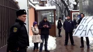 Protest Hyde Park la ambasada azeră în Moldova