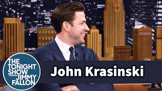 John Krasinski's Fly Was Down During a Dry Powder Performance