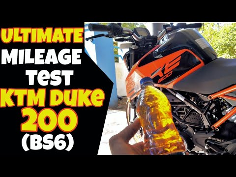 video KTM Duke 200 BS6