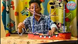 Easy way of making pen stand with fun