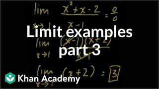 Limit Examples (part3)