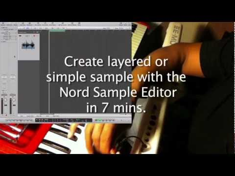 Create Layer Or Simple Sample nord electro 3 Sample editor in 7 mins