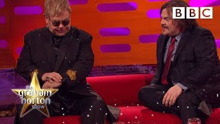 Jack Black asks Sir Elton John to identify one of his own songs - The Graham Norton Show