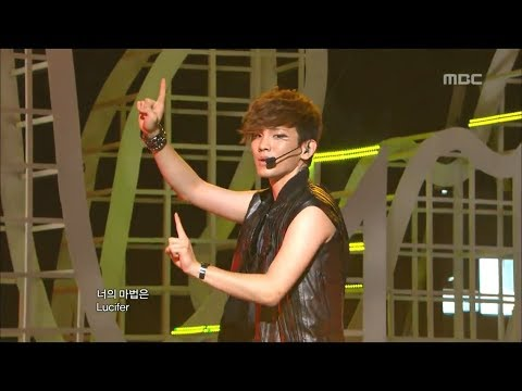 SHINee - Lucifer, 샤이니 - 루시퍼, Music Core 20100828