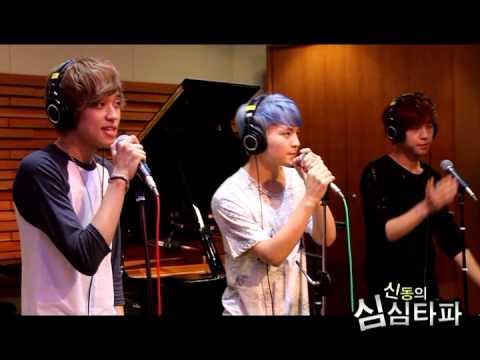 20120809 신동의 심심타파 / 틴탑-나랑 사귈래 (Live)
