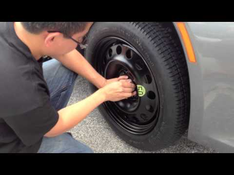 Bimmerzone.com: BMW E63 E64 6 Series 645i 650i Spare Tire Kit Installation & Test!