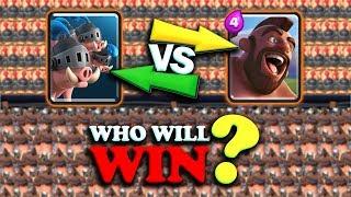Royal Hogs Vs Hog Rider | Clash Royale Super Challenge #40