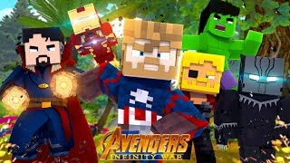 Minecraft Adventure - THE AVENGERS INFINITY WAR #5 THE END!