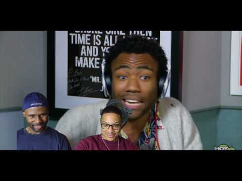 Childish Gambino- Hot 97 Freestyle (REACTION!!!)