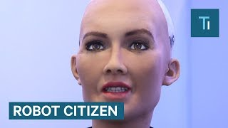 Sophia the humanoid robot just became a 'robot citizen'
