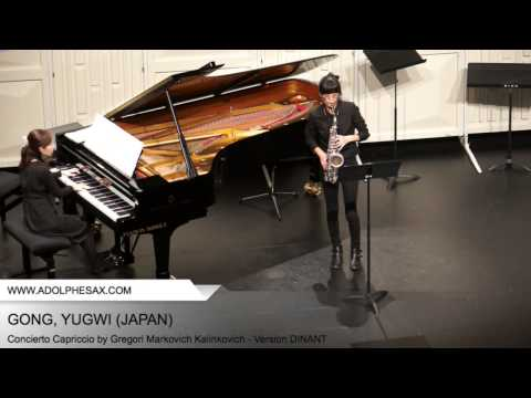 Dinant 2014 - Gong, Yugwi - Concerto Capriccio by Gregori Markovich Kalinkovich