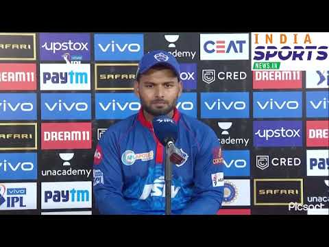 Rishabh Pant's press conference with India Sports News