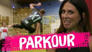 Learning PARKOUR?! (Beauty Trippin)