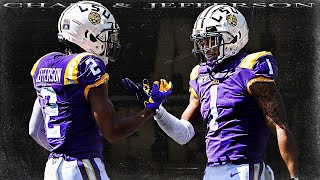 Best WR Duo in College Football - Ja'marr Chase & Justin Jefferson ᴴᴰ