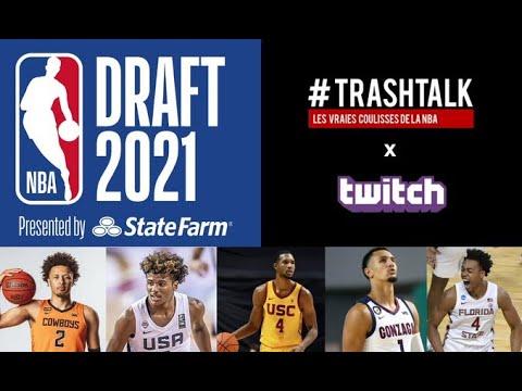 NBA Draft 2021 : le replay du giga live !