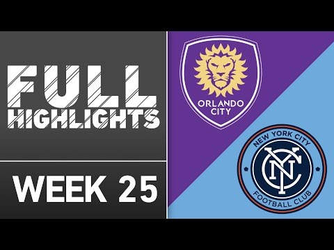 HIGHLIGHTS: Orlando City SC 2-1 New York City FC