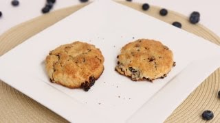 Lemon Blueberry Scones Recipe - Laura Vitale - Laura in the Kitchen Episode 635