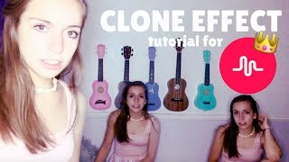 How to do the Clone Transition on Musical.ly